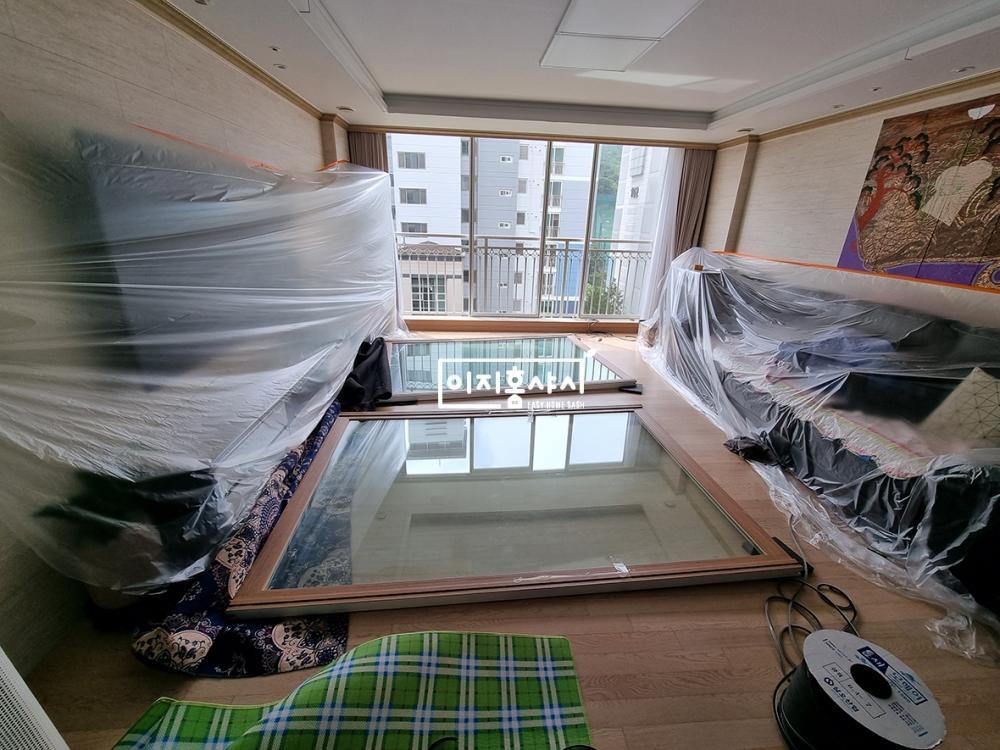 확장형아파트 모헤어시공